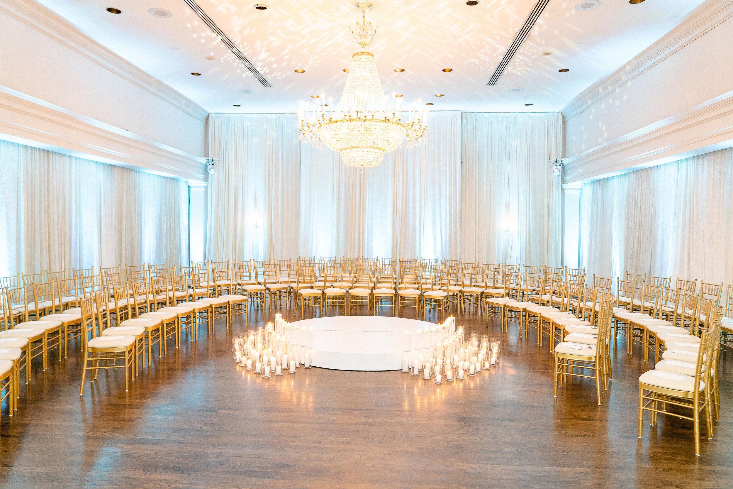 Beautiful Candlelit Wedding at The Bethesda Ballroom