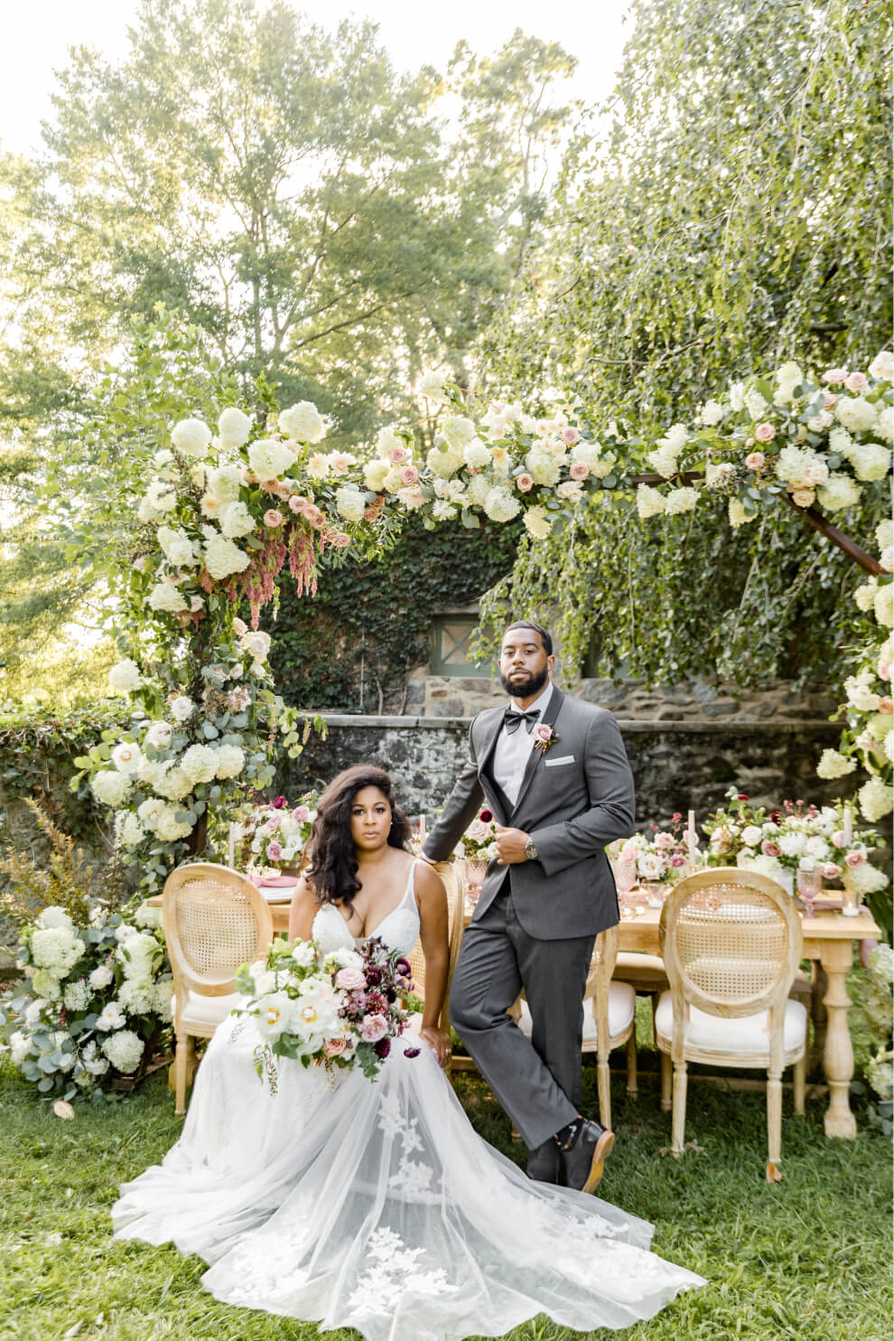 Whimsical Garden Wedding Styled Shoot