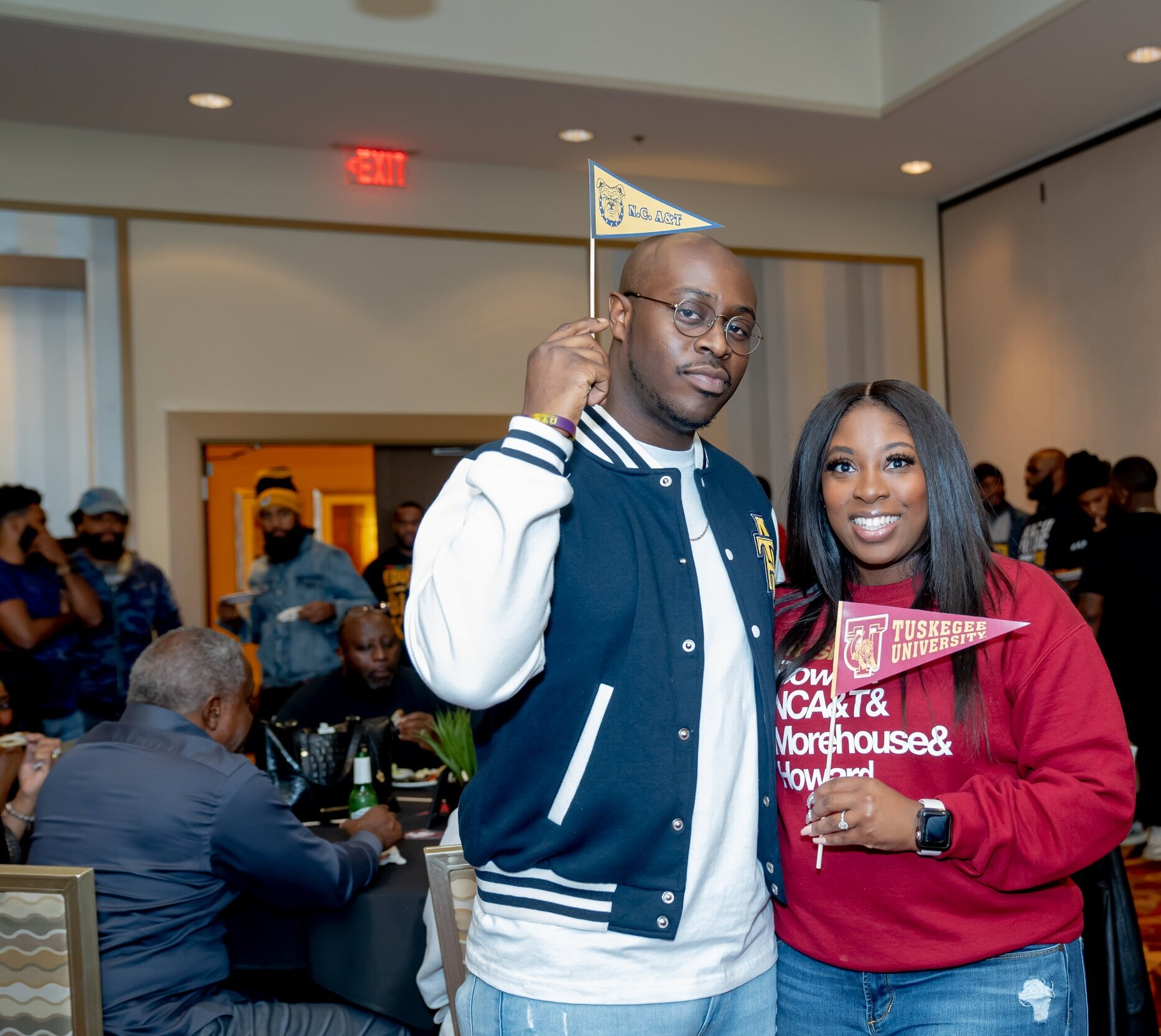 HBCU Themed Wedding Welcome Event