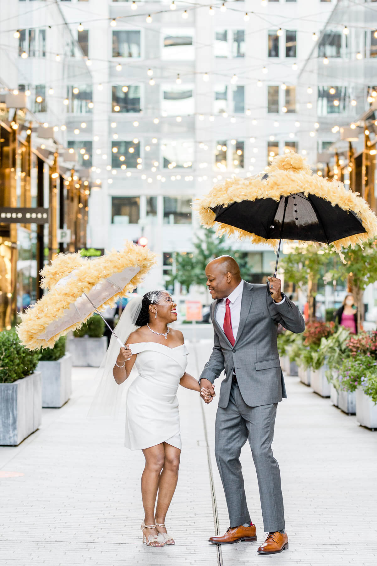 New Orleans Mini Wedding with a Second Line
